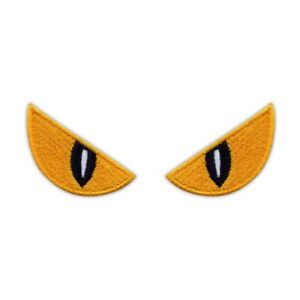 SPOOKY Eyes Embroidered PATCH/BADGE