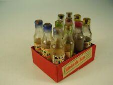 Antike Kiste Kaufmannsladen RIEBECK - Bier Kiste