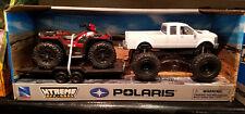 NIB New-Ray Lifted Truck w/ Mini Polaris Sportsman XP1000 ATV diecast toy 1:14