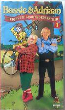 BASSIE & ADRIAAN - LIEDJES UIT GROOTMOEDERS TIJD - DEEL 1 / 2 - VHS - DUBBELBOX