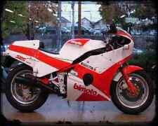 BIMOTA Sb5 2 A4 Metal Sign moto antigua añejada De