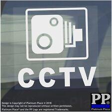 Cámara De Seguridad 6 X Cctv ventana Stickers-Coche, Furgoneta, Camión, Camión, Taxi, Taxi Casa signos