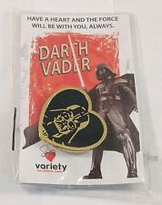 Star Wars Darth Vader Heart Pin Variety Children's Charity 2013 Brand New