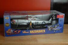 1:18 Ultimate Soldier P-47D Thunderbolt Razorback WWII NIB