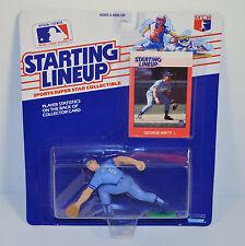1988 George Brett #5 Jersey Kansas City Royals Starting Lineup Baseball