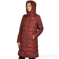 Nike Women's Sportswear Down Fill Hooded Parka Jacket Full Zip