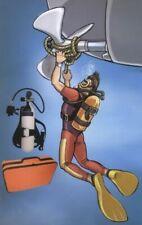 Bootstauchgerät Komplettsystem 5L 300bar Flasche, Tragegestell und Atemregler