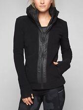 NWT Athleta Power Peak Jacket, Black SIZE L                 #842192  E217