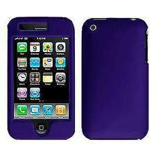 AMZER Polished Purple Snap On Crystal Hard Case Cover For Apple iPhone 3G & 3GS