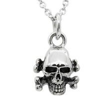 Skull with Cross bone Necklace By Controse