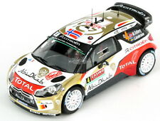 Citroen DS3 WRC Ostberg - Andersson Rally Monte Carlo 2014 1:43