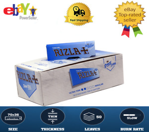 Rizla Thin CIEL Thin Cigarette  Rolling Papers Regular Size 50  Booklets ✅