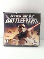 STAR WARS: BATTLEFRONT PC GAME! 2004 LUCAS ARTS! 3 DISCS Fast Shipping!