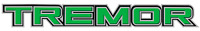 FORD F-250 TREMOR DECAL - Set of 2 DIE-CUT - GREEN COLOR