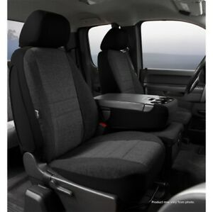 FIA OE37-10 CHARC Custom Seat Cover Front For 02-10 Ford F550 Super Duty NEW