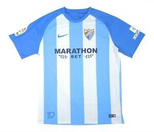 Malaga 2017-18 Original Home Shirt (Excellent) XL Soccer Jersey