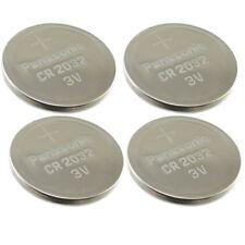 4 Panasonic 3V Lithium Power CR2032 Coin Cell Batteries Multipurpose New