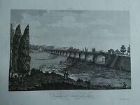 1845 Zuccagni-Orlandini Veduta del Ponte sul Taro