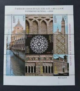 España año 2002 PATRIMONIO MUNDIAL Nº 3936 al 3041 MNH