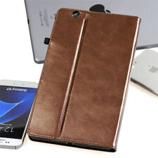"""Premium Leder Cover für  Huawei MediaPad T3 10,1""""  Tablet Schutzhülle Case braun"""