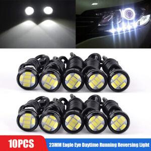 10X White LED Eagle Eye Light 12V 5730 Daytime Running DRL Backup Car Rock Lamp