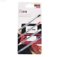 DE29 4pcs Metal Retractable Telescopic Stylus Touch For Nintendo 3DS XL N3DS US
