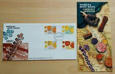 1998 Malaysia Currency Heritage Coins 4v Stamps FDC (Kuala Lumpur Cachet)
