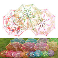Dollhouse Toy Furniture Garden Flower Umbrella Home Miniature Decorative Gift LJ