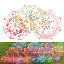 Dollhouse Toy Furniture Garden Flower Umbrella Home Miniature Decorative Gift HF