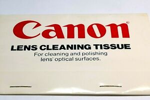 Canon FD Lens Cleaning Tissue Paper vintage 1980's AE-1 Genuine OEM