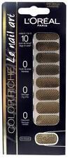 L'Oreal Color Riche Le Nail Art 18 Stickers - 010 Gold Lingerie