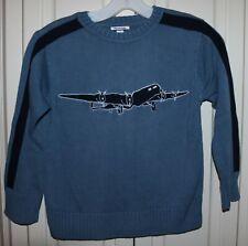 Boy's Hartstrings Airplane Sweater - Size 7