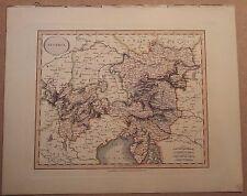 John cary carte de l'autriche 1813 à son nouveau elementary atlas