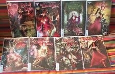 The Blood Queen #1-5 + Midtowns & Dynamic Forces #1 + Annual. 8 NM Comics total