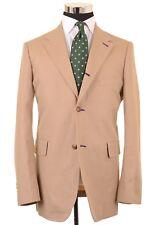 Needles Nepenthes Made in JAPAN Khaki Cotton Twill Sport Coat Jacket Blazer XL