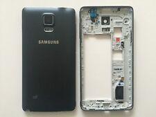 Original Samsung Galaxy Note 4 N910F Mittelrahmen Rahmen Gehäuse Deckel Schwarz