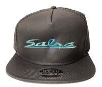 OTTO CAP Snapback Hat Men's Hat Salsa Trucker Mesh Charcoal/Teal - BUNDLE DEAL