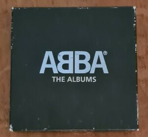 ABBA – The ALBUMS - BOX - 9 CD - EX