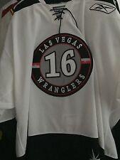 ECHL AHL NHL 2009-10 LAS VEGAS WRANGLERS MATT WATKINS GAME WORN HOCKEY JERSEY