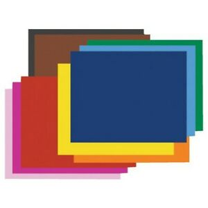 STRATHMORE / PACON PAPERS 54781 PEACOCK RAILROAD BOARD 4PLY SMOOTH SHEETS ORA...