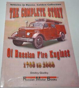 Story Russian Fire Engine RARE ENG GER 1700-2000 Book GAZ ZIL Kraz MAZ Ural MZKT