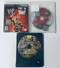 WWE & Wrestle Mania Wrestling Game Bundle PS3 Playstation 3