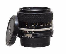 Nikon nikkor 35mm f2.8 ais lens