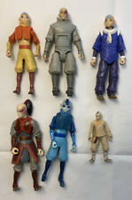 Vintage Avatar the Last Airbender Action Figure Fire Air Water Toys Mattel Lot