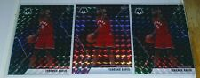 (3) 2019-20 Mosaic Terence Davis Rookie RC (2) Green & (1) Pink Camo Prizm #226