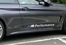 2x BMW M Performance Aufkleber Folie Logo emblem 1er 2er 3er 4er 5er M