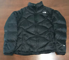 North Face Women's 550 Goose Down Puffer Jacket Coat Black Size Large