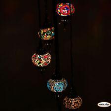 Mosaiklampe Türkische Orientalische Lampe Stehleuchte 5 Glas