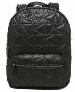 Michael Kors Winnie Large Quilted Nylon Black Backpack 35T0UW4B7C NWT $448 MSRP