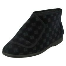 Mens Balmoral Chequered Pattern Bootee Slippers 'VB M25'